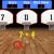 Træn de fire regnearter med matematik-basketball